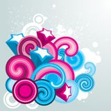 Colorful design element. Colorful element for your design Royalty Free Stock Photo