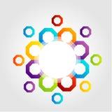 Colorful design element Stock Photos