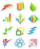 Colorful design elements. Editable vector Royalty Free Stock Photos