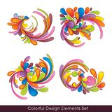 Colorful_design_elements_set Royalty Free Stock Photos