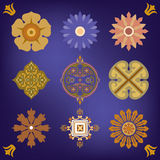 Colorful design elements Stock Photography