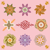 Colorful design elements Royalty Free Stock Photos