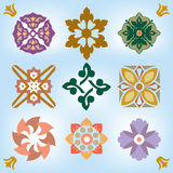 Colorful design elements Stock Photo