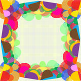 Colorful design. Colorful of half oval were sorted, this is design of colorful Royalty Free Stock Photography