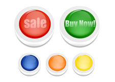 Colorful Design Sale Royalty Free Stock Images