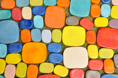 Colorful design tile Stock Photo