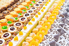 Colorful of  dessert Stock Image
