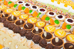 Colorful of  dessert Royalty Free Stock Photos