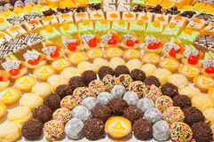 Colorful  dessert Royalty Free Stock Images