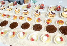Colorful desserts Royalty Free Stock Photography