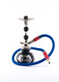 Colorful detailed hookah on a white background Stock Images