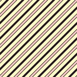 Colorful diagonal stripes seamless pattern, slanted lines. Baby pattern. Girls pattern. Stock Photography