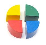 Colorful diagram Stock Photo