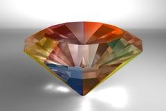 Colorful Diamond Stock Image