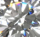 Colorful diamond backgroiund Stock Photography