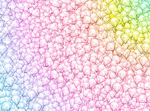 Colorful diamond background royalty free illustration