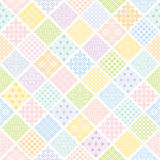 Colorful diamond background with Japanese traditional design. Royalty Free Stock Photo