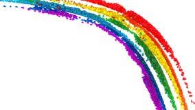 Colorful diamond rainbow pattern Royalty Free Stock Image
