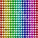 Colorful Diamonds pattern background Royalty Free Stock Image