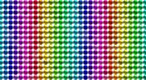 Colorful Diamonds pattern background Royalty Free Stock Photography