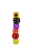 Colorful Dice Set Stock Images