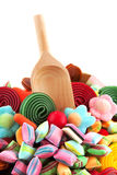 Colorful different candy Stock Photo