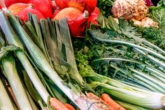 Colorful different fresh vegetables Royalty Free Stock Photo