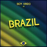 Colorful digital background Brazil Stock Photos