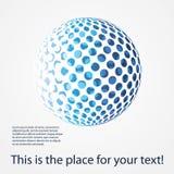 Colorful Digital Globe Design Vector Stock Image