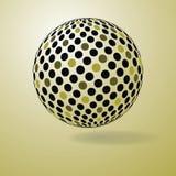 Colorful Digital Globe Design Vector Royalty Free Stock Photo