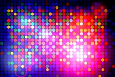 Colorful disco background Stock Photography