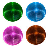 Colorful disco balls Royalty Free Stock Photography