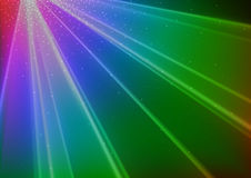 Colorful Disco Light Background Stock Photo