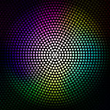 Colorful disco lights background. Vector in Eps10 Stock Photo