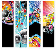 Colorful Discoteque Flyer Royalty Free Stock Photo