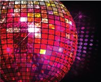 Discotheque Ball Royalty Free Stock Photography