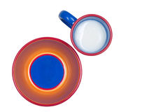 Colorful Dishes Stock Photography