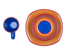 Colorful Dishes Royalty Free Stock Images