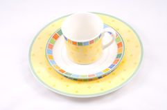 Colorful dishes Royalty Free Stock Photos