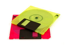 Colorful Disks Stock Photos