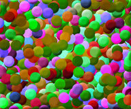 Colorful Disks Background. Simple Colorful Disks Background Texture Vector Illustration