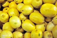 Colorful Display Of Lemons Royalty Free Stock Photo
