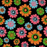 Colorful Ditsy Floral Seamless Pattern, Neutrals flowers Surface Pattern Background Floral Repeat Pattern for textile design, fab. Ric Printing, Stationary royalty free illustration