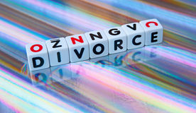 Colorful divorce Stock Photos