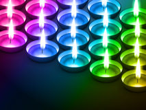 Colorful diwali background. Colorful diwali diya with space for your text
