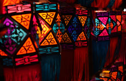 Colorful Diwali Lanterns Stock Photos