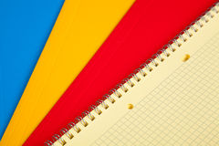 Colorful document folders Royalty Free Stock Photos