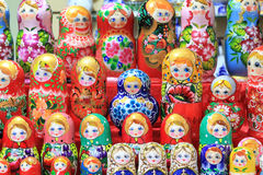 Colorful dolls Stock Image