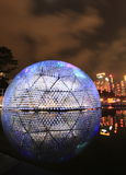 Colorful dome at night Royalty Free Stock Photography