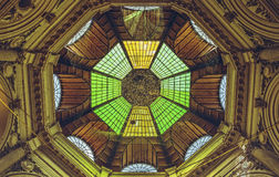 Colorful dome roof architecture royalty free stock photos